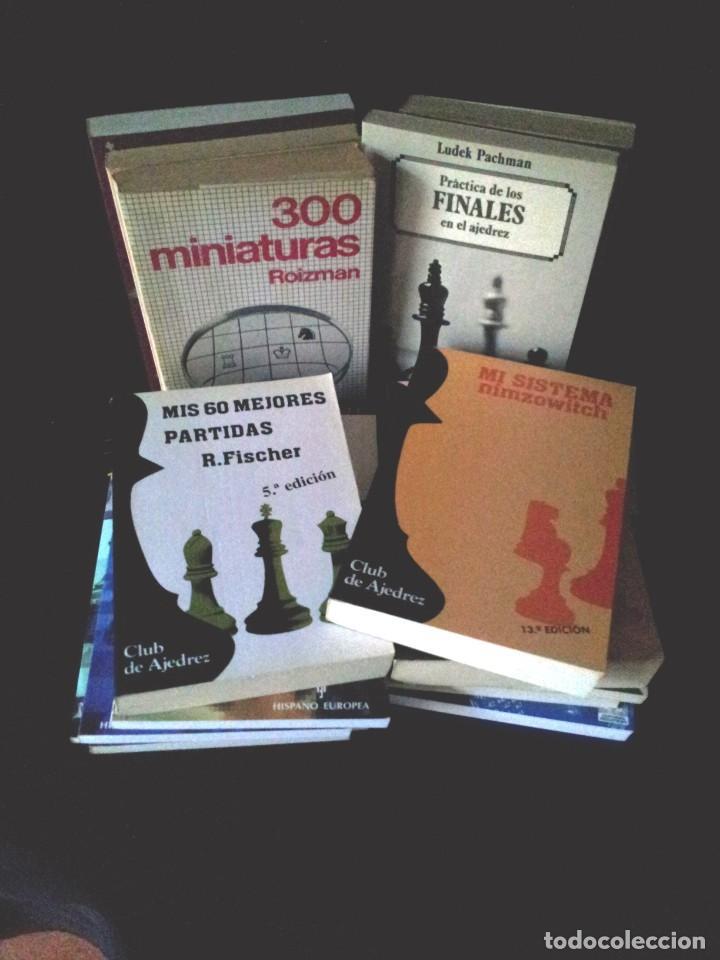 LOTE DE 22 LIBROS DE AJEDREZ - VARIOS AUTORES - NO SE VENDEN POR SEPARADO (Coleccionismo Deportivo - Libros de Ajedrez)