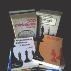 Coleccionismo deportivo: LOTE DE 22 LIBROS DE AJEDREZ - VARIOS AUTORES - NO SE VENDEN POR SEPARADO. Lote 149632298