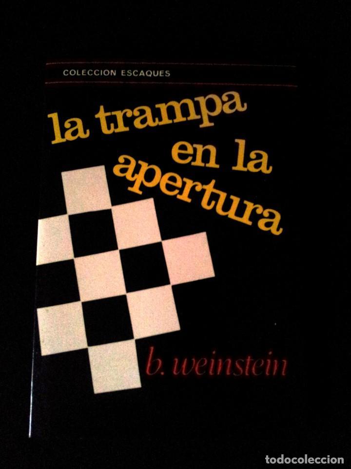 Coleccionismo deportivo: LOTE DE 22 LIBROS DE AJEDREZ - VARIOS AUTORES - NO SE VENDEN POR SEPARADO - Foto 7 - 149632298