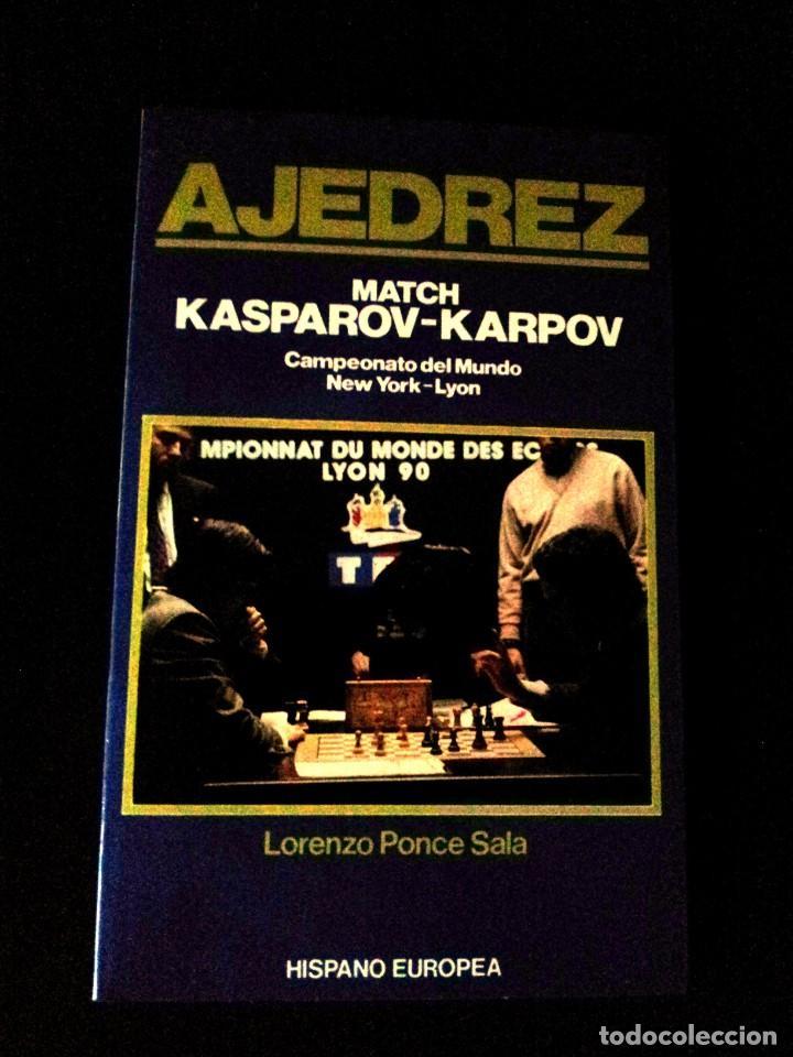 Coleccionismo deportivo: LOTE DE 22 LIBROS DE AJEDREZ - VARIOS AUTORES - NO SE VENDEN POR SEPARADO - Foto 8 - 149632298
