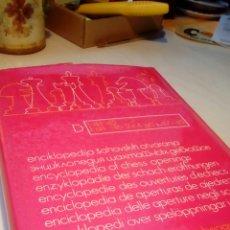 Coleccionismo deportivo: ENCICLOPEDIA AJEDREZ APERTURAS SEMIABIERTAS. Lote 149666562
