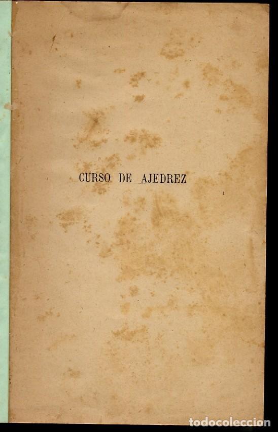 Coleccionismo deportivo: AJEDREZ - CURSO DE AJEDREZ - EMANUEL LASKER - 1924 - LEER - Foto 2 - 149732594