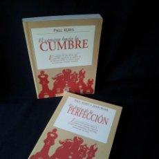 Coleccionismo deportivo: PAUL KERES Y JOHN NUNN - EL CAMINO HACIA LA CUMBRE Y EN BUSCA DE LA PERFECCION - TUTOR 1999. Lote 150044122