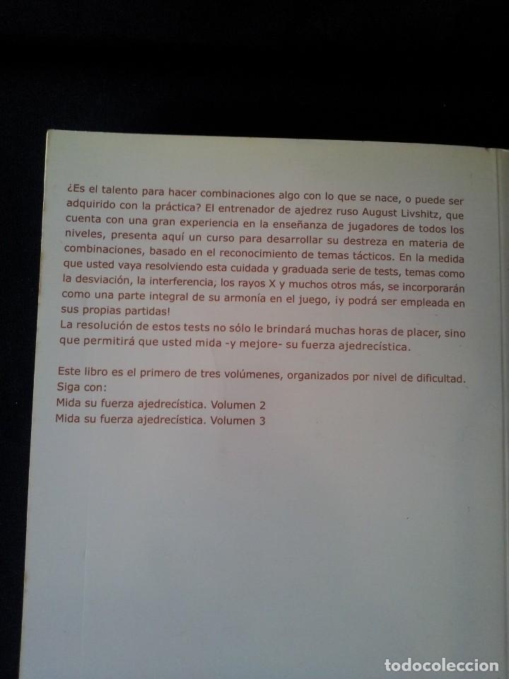 Coleccionismo deportivo: AUGUST LIVSHITZ - MIDA SU FUERZA AJEDRECISTA, 3 LIBROS - 2002 - Foto 3 - 150622126