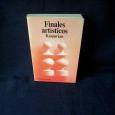 Coleccionismo deportivo: KASPARIAN - FINALES ARTISTICOS - COLECCIONES ESCAQUES 61, EDICIONES MARTINEZ ROCA 1986. Lote 150625582