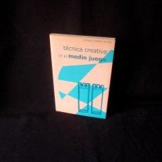 Coleccionismo deportivo: ALFONSO ROMERO HOLMES - TECNICA CREATIVA EN EL MEDIO JUEGO - 2000. Lote 150628802