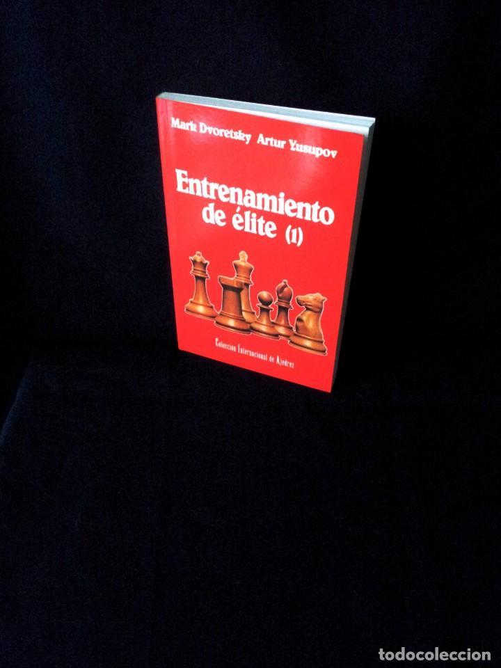 MARK DVORETSKY Y ARTUR YUSUPOV - ENTRENAMIENTO DE ELITE 1 - 1992 (Coleccionismo Deportivo - Libros de Ajedrez)