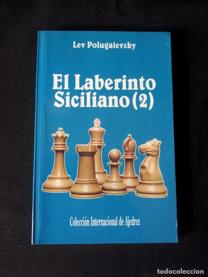 Coleccionismo deportivo: LEV POLUGAIEVSKY - EL LABERINTO SICILIANO 2 - 1993 - Foto 2 - 150647394
