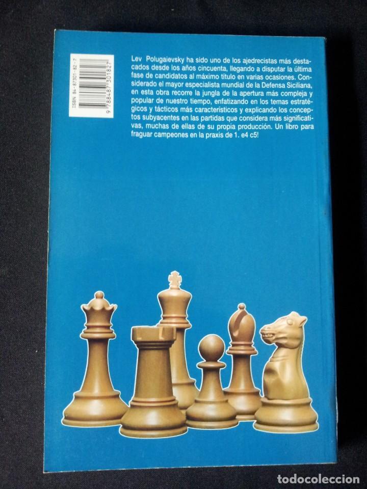 Coleccionismo deportivo: LEV POLUGAIEVSKY - EL LABERINTO SICILIANO 2 - 1993 - Foto 3 - 150647394