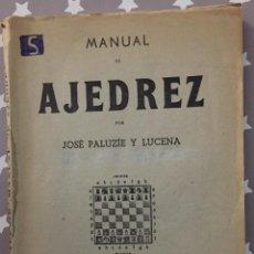 Coleccionismo deportivo: MANUAL DE AJEDREZ, JOSE PALUZIE Y LUCENA, PARTE QUINTA PROBLEMAS. Lote 151171546