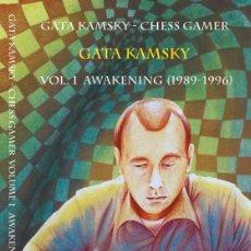 Coleccionismo deportivo: AJEDREZ. GATA KAMSKY - CHESS GAMER, VOLUME 1. THE AWAKENING 1989-1996 - GATA KAMSKY. Lote 151315434