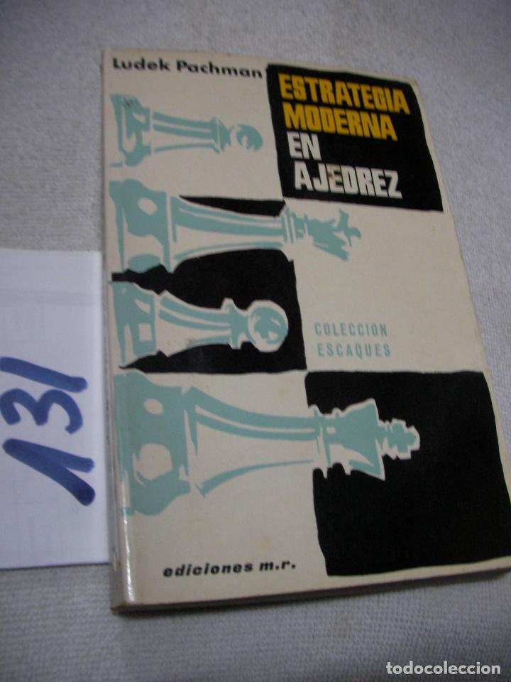 ESTRATEGIA MODERNA EN AJEDREZ - LUDEK PACHMAN (Coleccionismo Deportivo - Libros de Ajedrez)