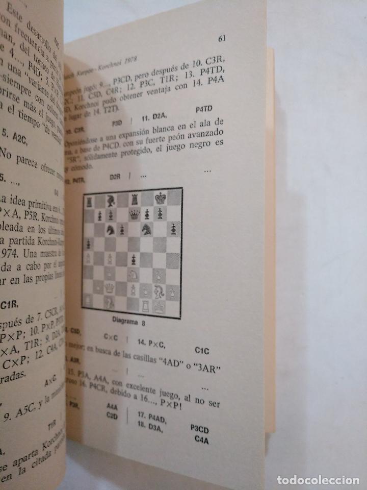 Coleccionismo deportivo: Match Karpov-Korchnoi: campeonato Mundial de ajedrez 1978. TDK370 - Foto 2 - 152720106