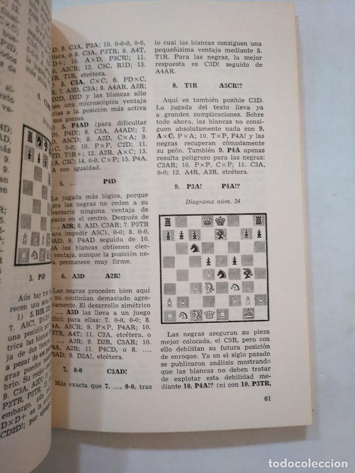 Coleccionismo deportivo: PRACTICA DE LAS APERTURAS EN EL AJEDREZ. LUDEK PACHMAN. COLECCION ESCAQUES. TDK371 - Foto 2 - 152748842