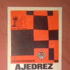 Coleccionismo deportivo: IV TORNEO INTERNACIONAL AJEDREZ PALMA DE MALLORCA 1968 BOLETINES KORCHNOI SPASSKY. Lote 153050294