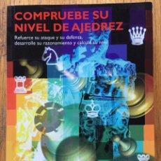 Coleccionismo deportivo: COMPRUEBE SU NIVEL DE AJEDREZ FRANK LOHEAC-AMMOUN. Lote 155046266