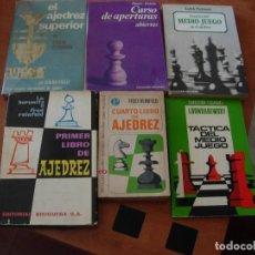 Coleccionismo deportivo: AJEDREZ / LOTE DE 6 LIBROS. Lote 155437030