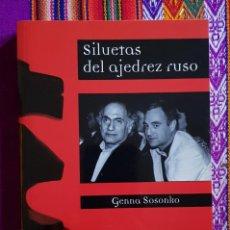 Coleccionismo deportivo: SILUETAS DEL AJEDREZ RUSO. Lote 156656430
