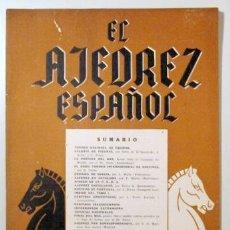 Coleccionismo deportivo: EL AJEDREZ ESPAÑOL. Nº 17 - MADRID 1957 - ILUSTRADO. Lote 157215164