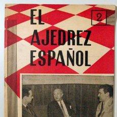 Coleccionismo deportivo: EL AJEDREZ ESPAÑOL. Nº 57 - MADRID 1961 - ILUSTRADO. Lote 157215172