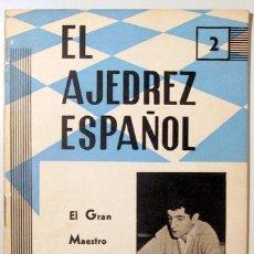 Coleccionismo deportivo: EL AJEDREZ ESPAÑOL. Nº 81 - MADRID 1963 - ILUSTRADO. Lote 157215176