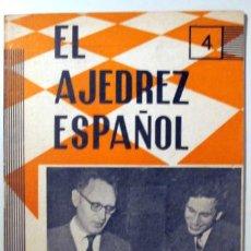 Coleccionismo deportivo: EL AJEDREZ ESPAÑOL. Nº 83 - MADRID 1963 - ILUSTRADO. Lote 157215184