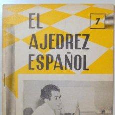 Coleccionismo deportivo: EL AJEDREZ ESPAÑOL. Nº 74 - MADRID 1962 - ILUSTRADO. Lote 157215196