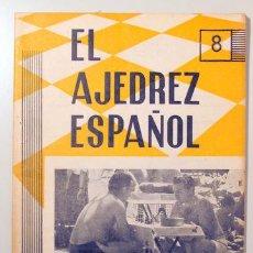 Coleccionismo deportivo: EL AJEDREZ ESPAÑOL. Nº 63 - MADRID 1961 - ILUSTRADO. Lote 157215200