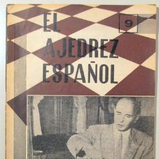 Coleccionismo deportivo: EL AJEDREZ ESPAÑOL. Nº 51 - MADRID 1957 - ILUSTRADO. Lote 157215204