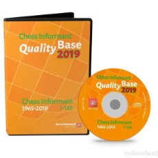 Coleccionismo deportivo: AJEDREZ. CHESS INFORMANT QUALITY BASE 2019. CHESS INFORMANT 1965-2018 - THE CHESS INFORMANT TEAM DVD. Lote 157496326