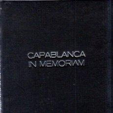 Coleccionismo deportivo: II TORNEO INTERNACIONAL DE AJEDREZ CAPABLANCA IN MEMORIAM. LUDEK PACHMAN. IMPRENTA INTER. 1965.. Lote 159338970