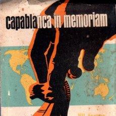 Coleccionismo deportivo: CAPABLANCA IN MEMORIAM. VII TORNEO INTERNACIONAL DE AJEDREZ. AGOSTO- SEPT. 1969.. Lote 159342434
