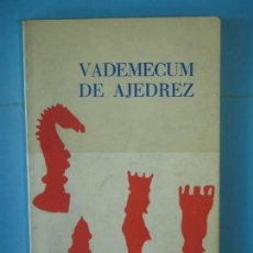 Coleccionismo deportivo: VADEMECUM DE AJEDREZ - JULIO GANZO - EDITORIAL RICARDO AGUILERA, 1972. Lote 159562410