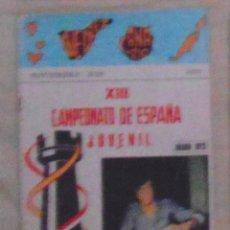 Coleccionismo deportivo: AJEDREZ CANARIO 28 1973. Lote 159609510