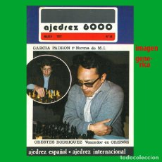 Coleccionismo deportivo: AJEDREZ CANARIO / 6000 68 1977. Lote 159627466