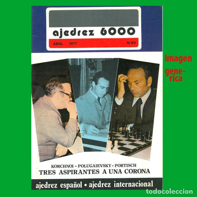 AJEDREZ CANARIO / 6000 69 1977 (Coleccionismo Deportivo - Libros de Ajedrez)