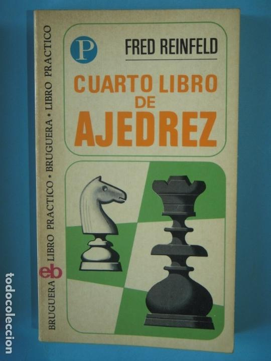 Coleccionismo deportivo: LIBRO DE AJEDREZ (LOS 4 LIBROS) - FRED REINFELD / I.A. HOROWITZ - BRUGUERA, 1972-1974 - Foto 5 - 189723827