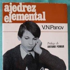 Coleccionismo deportivo - Ajedrez Elemental. V. N. Panov - 159790918