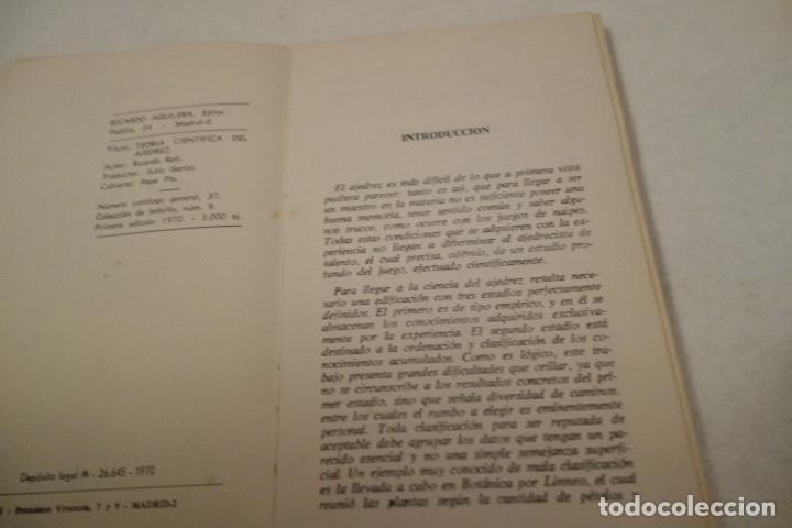 Coleccionismo deportivo: AJEDREZ.CHESS.CURSO CIENTÍFICO DE AJEDREZ. RICARDO RETI. EDITOR RICARDO AGUILERA. - Foto 2 - 159907902