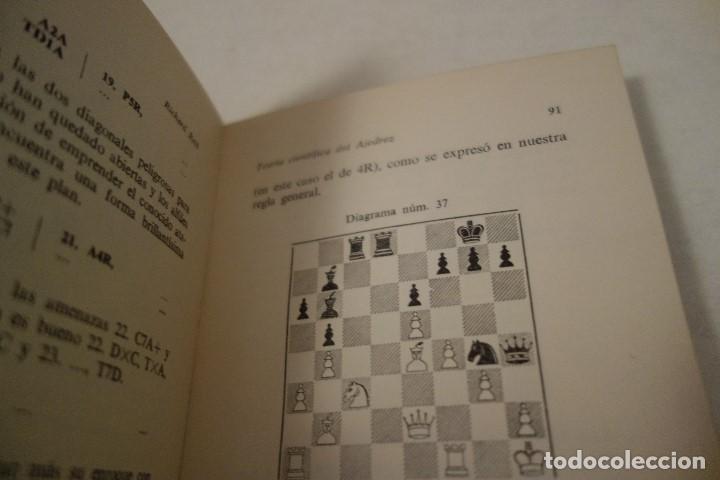 Coleccionismo deportivo: AJEDREZ.CHESS.CURSO CIENTÍFICO DE AJEDREZ. RICARDO RETI. EDITOR RICARDO AGUILERA. - Foto 4 - 159907902