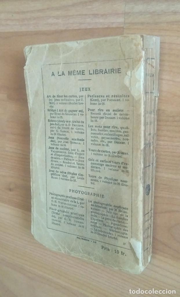 Coleccionismo deportivo: AJEDREZ - ANALYSE DU JEU DES ECHECS A.D. PHILIDOR PARIS - Foto 2 - 161724514