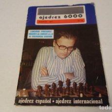 Coleccionismo deportivo: AJEDREZ CHESS. REVISTA AJEDREZ 6000 Nº 73. AGOSTO 1977. Lote 161961366