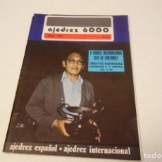 Coleccionismo deportivo: AJEDREZ CHESS. REVISTA AJEDREZ 6000 Nº 72.JULIO 1977. Lote 161961506