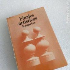 Coleccionismo deportivo: AJEDREZ. FINALES ARTÍSTICOS - GENRIKH KASPARIAN. Lote 162452006