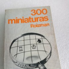 Coleccionismo deportivo: 300 MINIATURAS ROIZMAN PRIMERA EDICION 1975 RARO. Lote 162452514