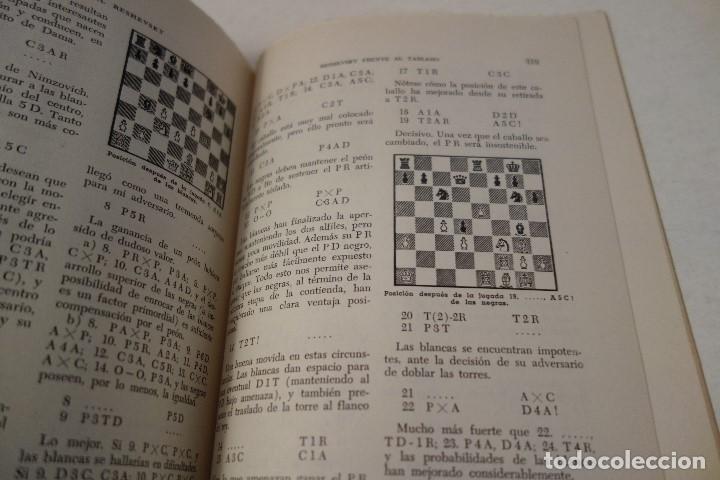 Coleccionismo deportivo: AJEDREZ.CHESS. RESHEVSKY FRENTE AL TABLERO. SAMUEL RESHEVSKY. MUY DIFÍCIL DE ENCONTRAR. - Foto 6 - 162957522