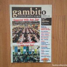 Coleccionismo deportivo: AJEDREZ REVISTA GAMBITO 39 2000. Lote 163486690
