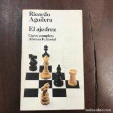 Coleccionismo deportivo: EL AJEDREZ - RICARDO AGUILERA. Lote 164500960