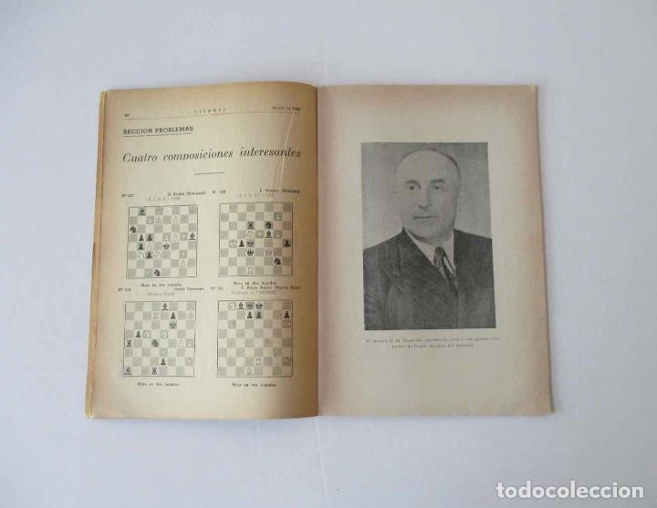 Coleccionismo deportivo: AJEDREZ REVISTA MENSUAL - 9 NUMEROS DEL AÑO 1960 - Foto 7 - 166971368