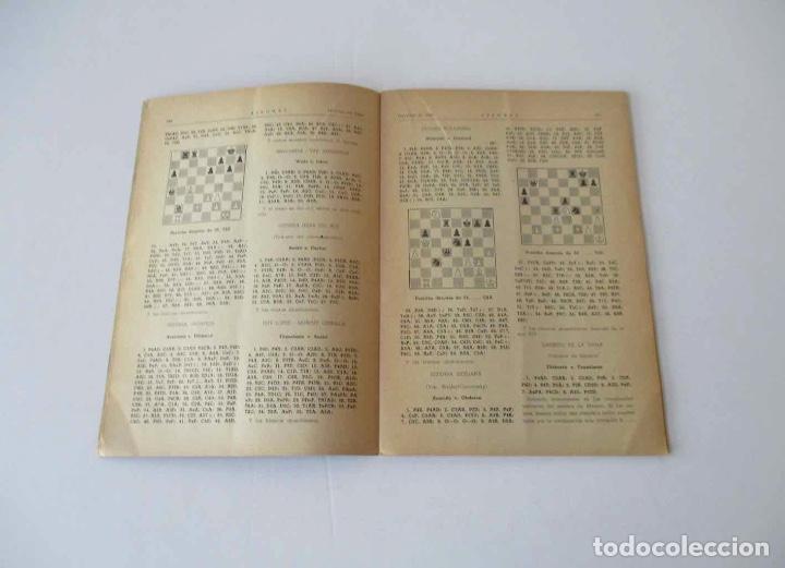 Coleccionismo deportivo: AJEDREZ REVISTA MENSUAL - 9 NUMEROS DEL AÑO 1960 - Foto 8 - 166971368